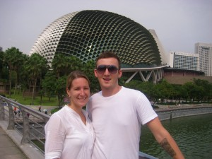 Me and Cody in Singapore
